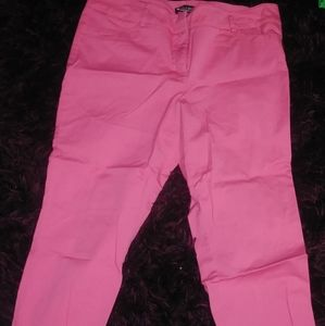 NY & CO light pink capris